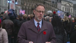 Canadians honour war veterans with ceremony in Belgium