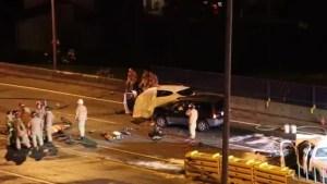 Fatal Highway 1 crash in North Vancouver