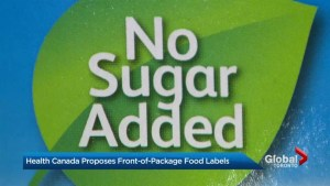 Health Canada launches new front-of-package warning label