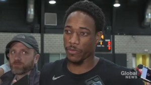 Former Raptor DeMar DeRozan excited to be facing his old team