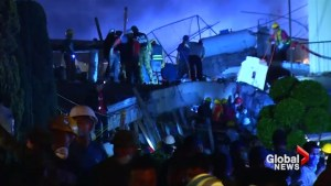 At least 22 students killed after Mexico earthquake collapses school