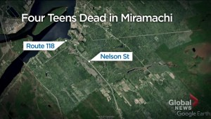 4 teens killed in single-vehicle crash in Miramichi, New Brunswick