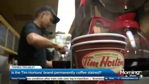Has Tim Horton's reputation become coffee stained?