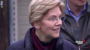 Elizabeth Warren avoids question on release of DNA test