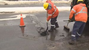 Toronto launches first 'pothole blitz' of 2019