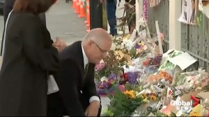 "'A very sombre day"" says Australian PM after Christchurch service"