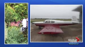 Wreckage of plane carrying Alberta couple found in BC (01:21)