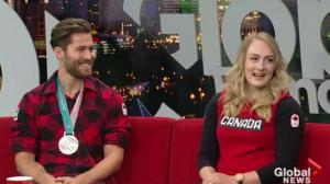 Pyeongchang medalists in Edmonton to celebrating Olympic success