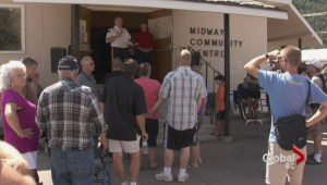 Rock Creek evacuees grateful for the support in Midway