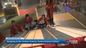 Tuition-free science school inside Ontario Science Centre