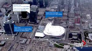 How will Rogers Place impact Edmonton's downtown growth and development?