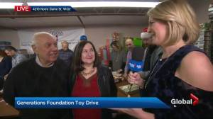 Generations Foundation 2017 toy drive
