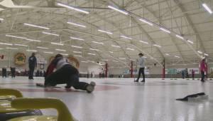 Jason Gunnlaugson still playing with first curling broom