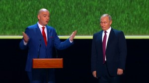 FIFA head says World Cup has changed perception of Russia