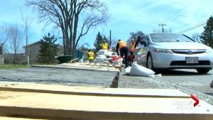 Volunteers pitch-in as the cleanup effort begins in Saint John