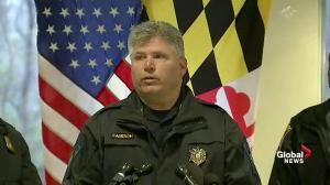 Maryland school resources officer being questioned about shooting