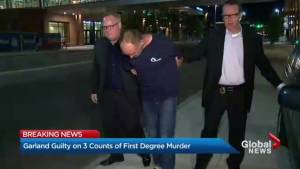 Douglas Garland guilty of 3 counts of first-degree murder in deaths of Nathan O'Brien and grandparents (01:00)