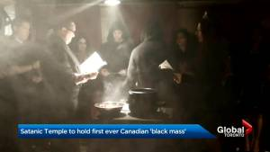 Satanic Temple to hold first Canadian 'Black Mass'