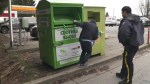 Global News catches person climbing into donation bin as safety concerns rise