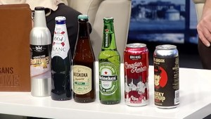 The science of beer and food pairings