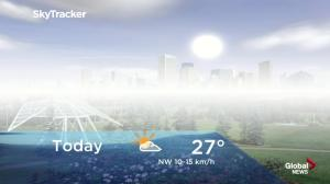 Edmonton early morning weather forecast: Friday, August 17, 2018