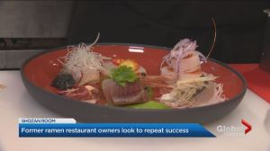 Former owners of popular Toronto Japanese restaurant back in the game