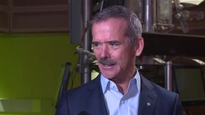 'We have never been busier in exploring the universe': Hadfield