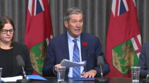 Manitoba premier discusses province's plan for legalization of pot