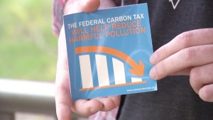Peterborough man launches his version of the carbon tax sticker
