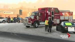 Convoy leaves Alberta for Ottawa, rallies for oil and gas industry