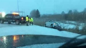 Messy weather impacting motorists in the GTA