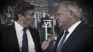 A look back on Tory, Ford exchange on downsizing of Toronto city council