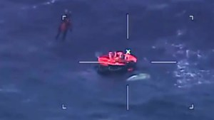 Hercules helicopter rescues fishing crew from Gulf of St Lawrence in 'complex' mission