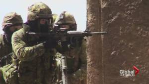 Canada's top soldier defends fight against ISIS