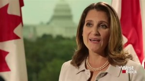 Flexibility needed on all sides to get new NAFTA deal: Freeland