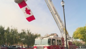 Lethbridge community mourns loss of local first responders on 9/11 anniversary