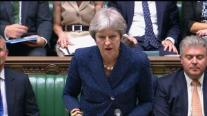 Theresa May offers condolences to victim of Novichok, says murder investigation ongoing