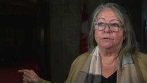 Senate debates Canada Post back-to-work legislation (02:39)