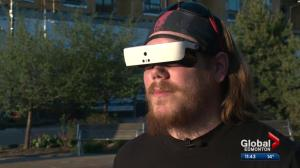 Sherwood Park man regains eyesight thanks to high tech glasses