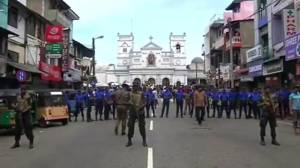 Hundreds killed in Sri Lanka bombings