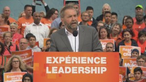 Tom Mulcair: Healthcare will be a defining issue
