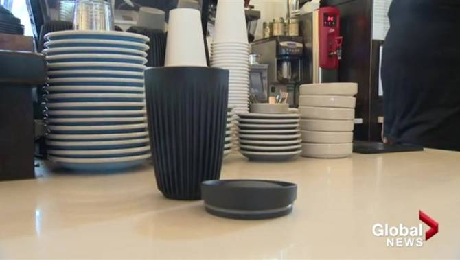 Vernon's Ratio Coffee and Pastry introduces reusable Huskee cup swap program