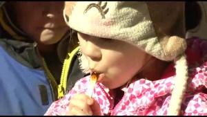 Maple Fest in Buckhorn seeing big crowds despite maple syrup shortage