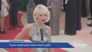 Taylor Swift and Calvin Harris split up