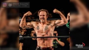 David Arquette hospitalized after participating in brutal pro wrestling match