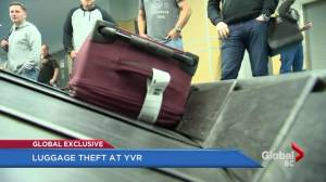 Possible theft ring involves luggage at YVR