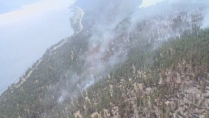 Okanagan wildfire helicopter tour