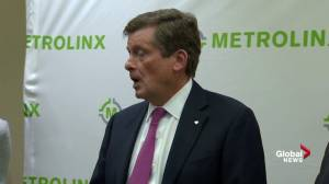 Mayor Tory says Union Pearson Express can't be impatient on ridership