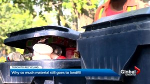 Toronto recycling: Packaging problems