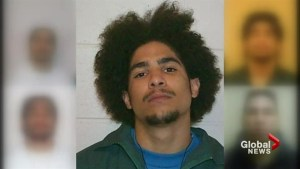 Police release eight different mugshots of suspect in transit cop shooting